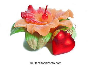 décoratif, bougie