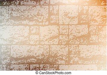décoratif, brickwall, texture
