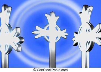 décoratif, croix