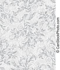 décoratif, eps10, modèle, seamless, élégant, floral