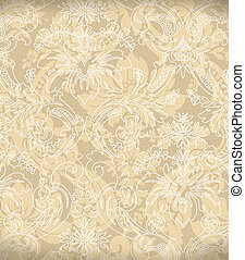 décoratif, lumière, arrière-plan beige