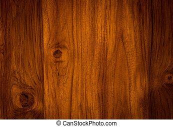 décoratif, nature, modèle, surface, teak, bois, meubles