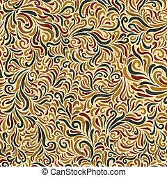 décoratif, pattern., vecteur, seamless, eps10