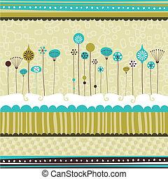 décoratif, saisonnier, fond