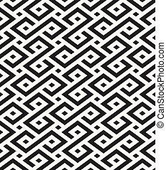 décoratif, -, seamless, géométrique, traditionnel, vecteur, fond, africaine, formes, répéter, texture