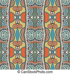 décoratif, style, géométrie, vendange, seamless, modèle, ethnique, backg