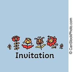 décoratif, style, image., puéril, croquis, illustration, ...