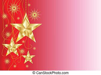 décoration, étoile, noël