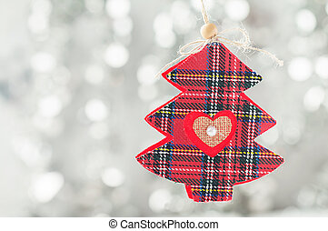décoration, arbre sapin, noël