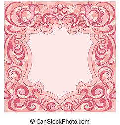 décoration florale, résumé, cadre