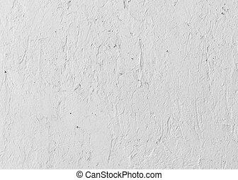 décoration, mur, blanc, ciment
