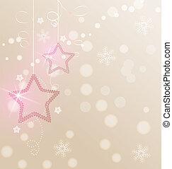 décoration, noël, étoiles