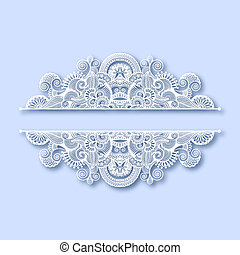 décoration, orné, noël, carte voeux