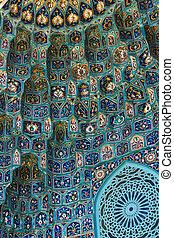 décoration, résumé, oriental