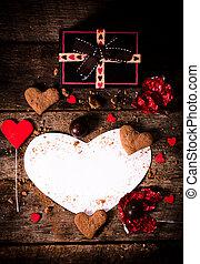 décoration, valentin