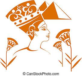 décorations, égyptien