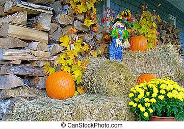décorations, automne