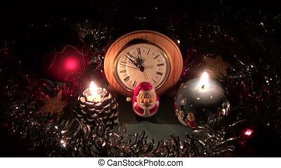 décorations, noël, nouvel an