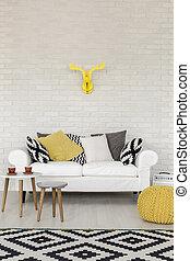 décorer, jaune