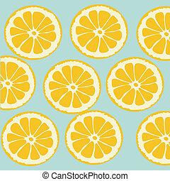 découpage, citron
