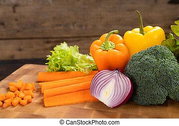 découpage, conseil bois, légumes