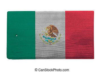 découpage, mexicain, planche