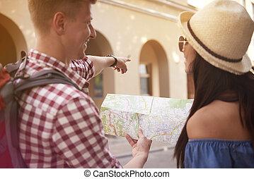 découvrir, explorer, ville