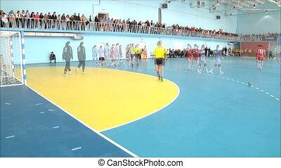 défaillance, handball, temps