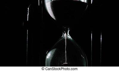 défaillance, -, haut, temps, fin, sablier