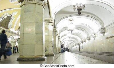 défaillance, métro, temps