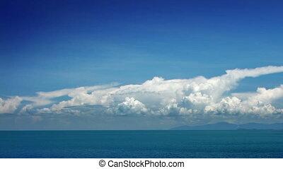 défaillance, nuages, mer, temps
