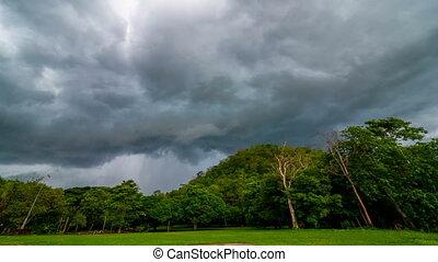 défaillance, nuages, pluvieux, temps