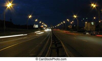 défaillance, nuit, trafic, temps