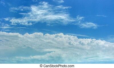 défaillance, skyscape, temps