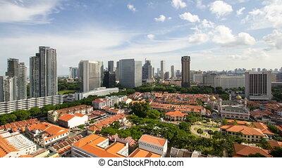 défaillance, temps, nuages, singapour