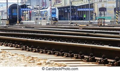 défaillance, temps, principal, station, train
