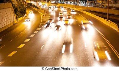 défaillance, trafic, temps