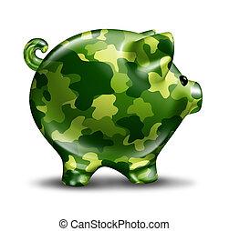 défense, financier, protection