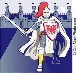 défenseur, château