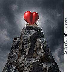défi, amour
