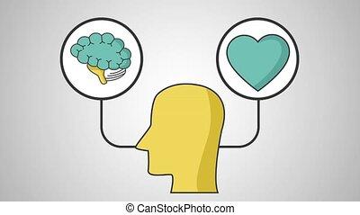 définition, cerveau, hd, coeur humain