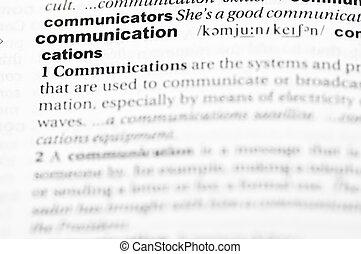 définition, communication