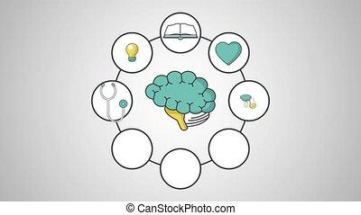 définition, concept, intelligence, cerveau, humain, hd