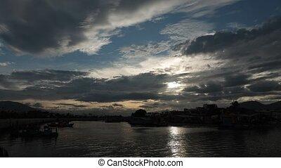 définition, défaillance, ciel, nuageux, élevé, temps