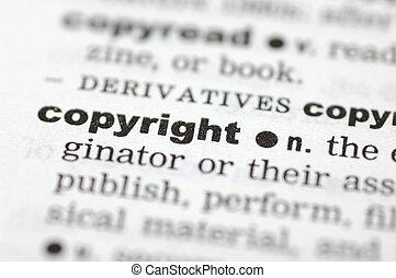 définition, droit d'auteur
