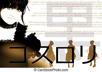 définition, fashion., kangi, (gothic, japonaise, anglaise, populaire, lolita)