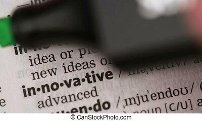 définition, innovation