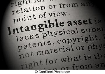 définition, intangible, bien