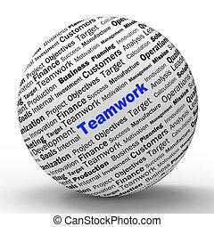 définition, moyens, association, sphère, unité, collaboration