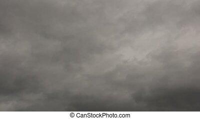 définition, orageux, défaillance, ciel, gris, élevé, temps